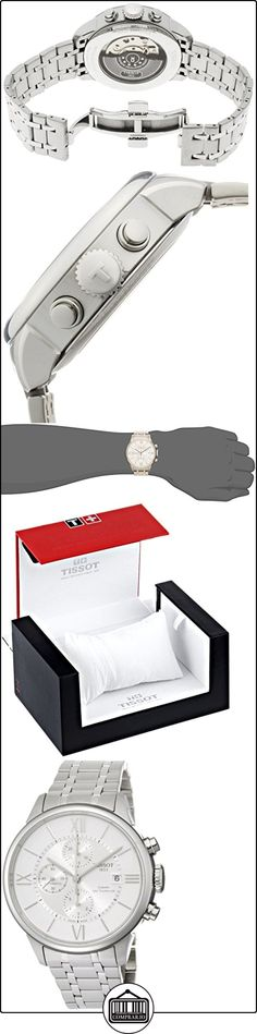 Tissot T0994271103800 T-Classic Chemin des Tourelles Auto Chrono Reloj Hombre  ✿ Relojes para hombre - (Lujo) ✿