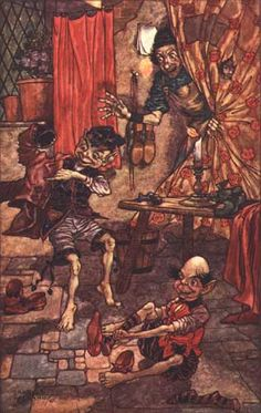 Charles Folkard's Elves and the Shoemaker