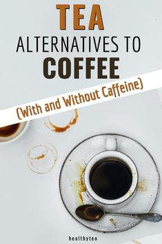 Want to quit drinking coffee first thing in the morning? Here are tea alternatives to coffee. You can choose with or without caffeine. #CoffeeAlternatives #Tea #FoodTips Morning Drinks, Morning Coffee, Quit Drinking, Drinking Coffee, Tea For One, Food Hacks, Food Tips, Quitting Coffee, Best Tea