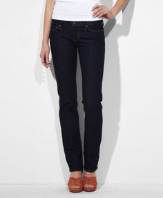 Levi's Modern Rise Slight Curve Straight Jeans on shopstyle.com