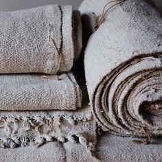 hemp rug rolls