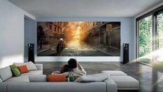 Voici la télévision Samsung à million d'euros Home Cinema Seating, Home Cinema Room, Cinema Seats, Hampton Mansion, Tv Options, Las Vegas, Samsung Tvs, Luxury Homes Dream Houses, Thing 1