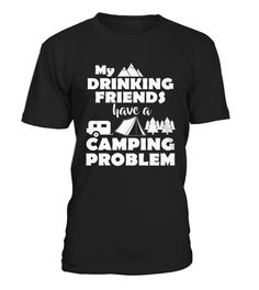Top Shirt for A CAMPING PROBLEM front