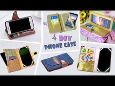 ADORABLE 4 DIYs PURSE & PHONE CASE // Woman Wallet Phone Case You Have to Try - YouTube Diy Wallet Phone Case, Cell Phone Pouch, Phone Cases, Diy Bags Purses, Diy Case, Mobile Covers, Diy Home Crafts, Diy Videos, Wallets For Women