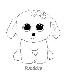 22229553522 beanie boo coloring pages photo - 34 Beanie Boo Dogs
