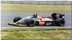 Thierry Boutsen Benetton Ford B187 F1 1987 British GP Silverstone
