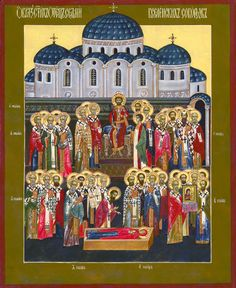 Holy Fathers of the Seven Ecumenical Councils
