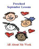 September Preschool Curriculum - All About Me Theme - Preschool Lessons, Preschool Themes, Lesson Plans