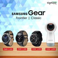 Gets better with every turn! Now Latest #Samsung360camera and #gearS3, #S2frontier and #classicsmartwatches are available in #Tigmoo online store in the affordable range+free shipping...Order now.