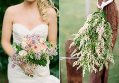 I like this not for the bouquet but for the flower decorations