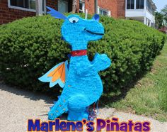 Doc McStuffins pinata or her friends... Dragon by Marlenespinatas