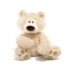Philbin is a new exciting addition joining the GUND family of iconic stuffed teddy bears. With floppy paws and feet, he sits and hugs like all great teddy bears should. With his lovable expression and