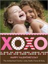 Tickled Pink Peppermint Valentine's Day Cards