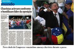 BLOG DO IRINEU MESSIAS: Mídia esconde que novo chefe do Congresso venezuel...