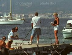 August 22, 1997: Princess Diana and Dodi Fayed in St. Tropez, France