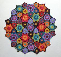 Ravelry: Jewelled Star pattern by Jo Smith