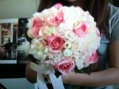 Bubzbeauty wedding bouquet, very beautiful