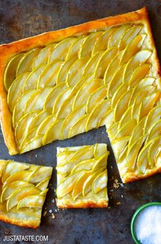 Easy Salted Caramel Apple Tart Recipe
