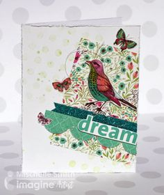 by Mischelle Smith Springtime is just around the corner and what better way to celebrate than a beautiful card to express the theme ofrenewal. This card uses Fireworks! Craft Spray, Creative Mediu…