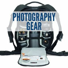 We love taking pictures and our photography gear makes all the difference in the shots we get! This board includes photography gear guides, how to choose a DLSR camera, how to use a DSLR camera, differences in camera lenses, how to choose a camera lens, camera bags, best tripods, best travel cameras, the best travel photography gear, photography gear on a budget, and much more.