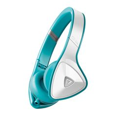 DNA by Monster, Headphones From The Future. DNA On-Ear White Teal, on Fab.com.