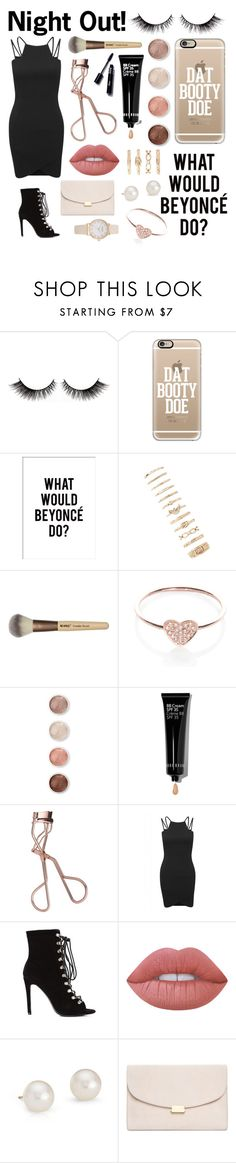 """""""Untitled #187"""" by rhiannonpsayer ❤ liked on Polyvore featuring Casetify, Forever 21, EF Collection, Terre Mère, Bobbi Brown Cosmetics, Charlotte Tilbury, AX Paris, Lime Crime, Blue Nile and Mansur Gavriel"""