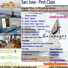 Christmas Special Departure  www.tripgalapagos.com