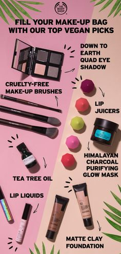 <img> Did you know over half our products are vegan? Fill your make-up bag with our nature-inspired, cruelty-free, vegan make-up and make the switch to vegan skincare with our top picks. Head over to our website to shop more vegan essentials! Natural Hair Treatments, Skin Treatments, Body Shop At Home, The Body Shop, Natural Make Up, Natural Skin Care, Damp Hair Styles, Natural Hair Styles, Brittle Hair