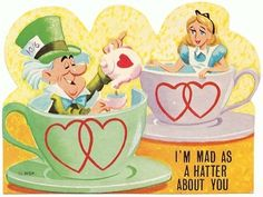 150 Valentines From Your Childhood - Alice in Wonderland
