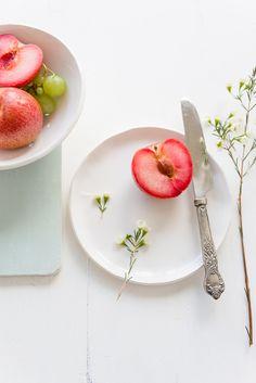 #food styling #food photography #pluots | Au Petit Goût