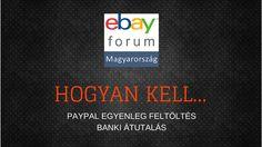 Paypal fiók feltöltése