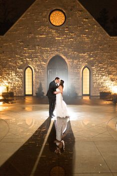 This is one of our favorite photos that we've taken at Ashton Gardens. This venue is so gorgeous-- the architecture, the gardens, everything. Judy and Patrick were a delight to spend the day with, and we love this wedding venue! Ashton Gardens is located in Sugar Hill, Georgia. Ashton Gardens, Sugar Hill, Night Shot, Unique Wedding Venues, Chapel Wedding, Greenery, Georgia, Shots, Couple Photos
