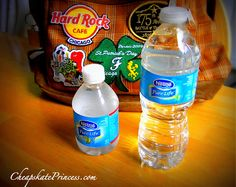 I can't believe I never thought of this! I knew about the free water at Disney World, but didn't want to stand in yet another line for it. So we always lugged a few bottles of water with us in a backpack. (After all, would YOU rather spend $3.00 on a bottle of water or a yummy dessert)? But this great idea is the best solution of all! Free water, yummy dessert, and used wisely, you can still avoid most of those lines!