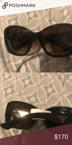 cc1bb6d53b561 Prada Sunglasses Super chic sunglasses. Missing one of the nose pads but  can be ordered from Prada. Great condition. Prada Accessories Sunglasses