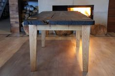 Bok Oak table 1600 years old mooreichetisch, handmade, woods tables