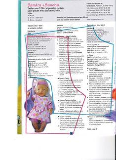 Одежда для куклят - выкройки и схемы / Мастер-классы, творческая мастерская: уроки, схемы, выкройки кукол, своими руками / Бэйбики. Куклы фото. Одежда для кукол