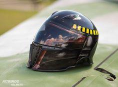 Boba Fett helmet  on www.nitrinos.ru