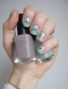 01634430795 Cocos nails  Birds on a tree Coco Nails