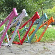FREE SHIPPING BY EMS mountain bike frame 26*15 aluminium alloy DIY frame 5 colors available Hot sale