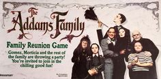 The Addams Family Reunion Board Game Gomez Morticia Thing Vintage Pressman 1991 #Pressman