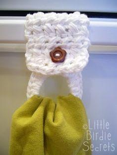dish towel hanger http://media-cache2.pinterest.com/upload/115334440427172368_i94J4Qsb_f.jpg  lasmitheckberg crochet muse