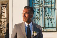 Make a dream come true Wedding Suits, Wedding Day, Destination Wedding, Wedding Planning, Santorini Wedding, Suit Up, Groom, Suit Jacket, Husband