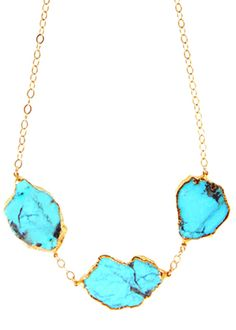 Turquoise Statement Necklace | Heather Gardner