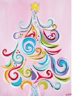 Pretty Christmas tree image