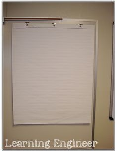 An Easy, Inexpensive, Space Saving Anchor Chart System!
