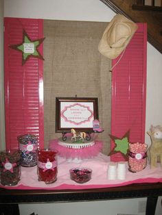 Western/Country Cowgirl Birthday Party Ideas | Photo 26 of 71 | Catch My Party