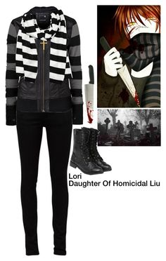 """Descendants:Daughter Of Homicidal Liu"" by pastelgothprincess27 ❤ liked on Polyvore featuring Yves Saint Laurent, Rip Curl, Michael Kors and yeswalker"