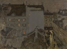 Montmartre in the Rain, 1897, Pierre Bonnard, Van Gogh Museum, Amsterdam (purchased with support from the BankGiro Loterij, the Rembrandt Association and the VSB Foundation)