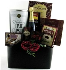 Wedding gift baskets, Anniversary gift baskets and Gift baskets on ...