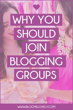 Why You Should Join Blogging Groups // Being a part of blogging groups has made a massive impact on my blog and my life. And I am not alone, it is something I see over and over again. If you have no idea what I am talking about or if you have yet to take the plunge, here are reasons you should join (at least) one!